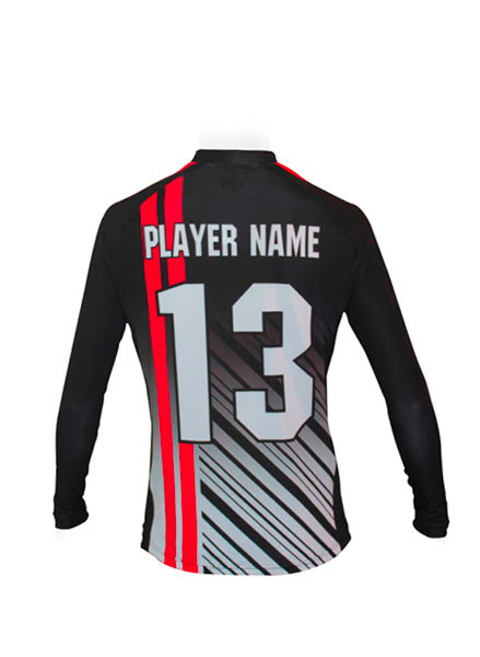 LS JERSEY SOCCER FIT ROUND COLLAR MEN