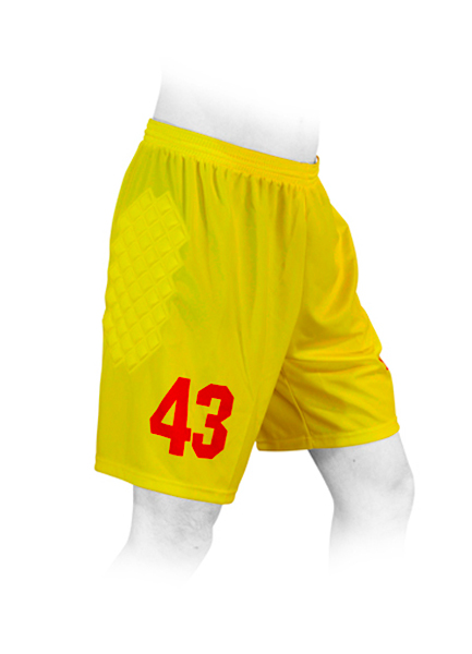 SHORTS SOCCER GOALKEEPER KIDS reinforced
