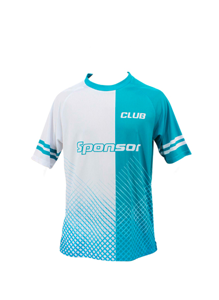 SS JERSEY BADMINTON ROUND COLLAR MEN