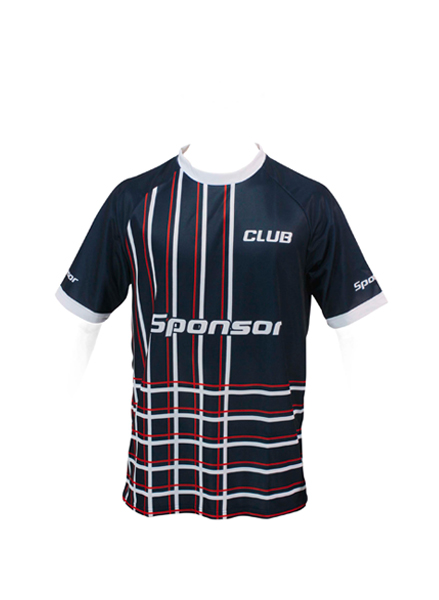 SS JERSEY MULTISPORT ROUND COLLAR MEN