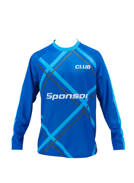 LS JERSEY HANDBALL MEN ROUND COLLAR