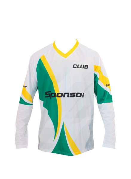 LS JERSEY HANDBALL MEN V-COLLAR