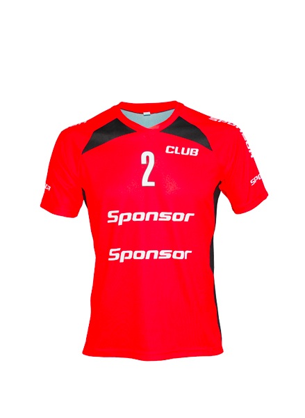 SS JERSEY HANDBALL SIDE INSERTS KIDS V-COLLAR