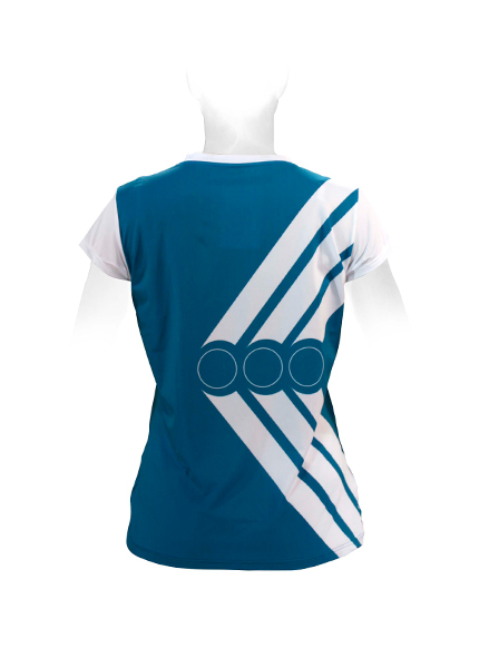 SS JERSEY TENNIS V-COLLAR WOMEN