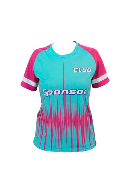 SS JERSEY EXPRESS ROUND COLLAR WOMEN